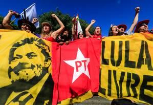 Após condenação, número de filiados ao PT parou de cair Foto: THEO MARQUES / FRAMEPHOTO / AGÊNCIA O GLOBO / Agência O Globo