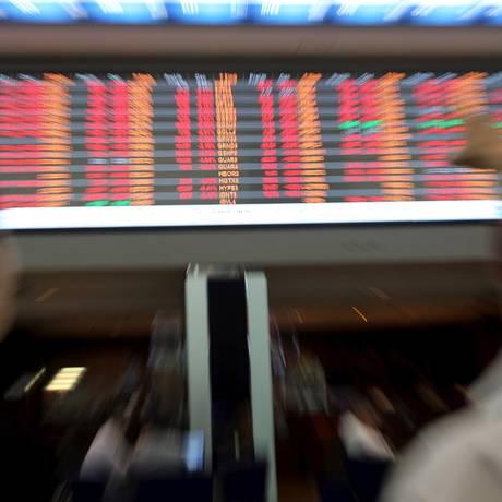 Bolsa de Valores em São Paulo Foto: Paulo Whitaker/Reuters