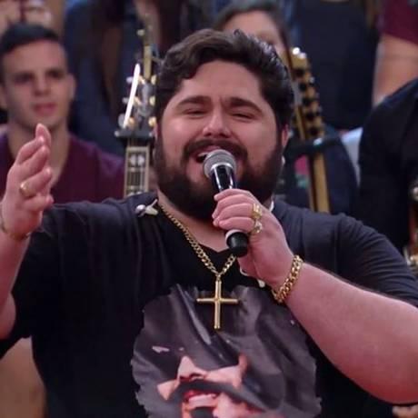 O cantor sertanejo César Menotti Foto: Reprodução