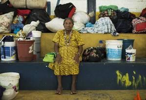 Índios venezuelanos sofrem com isolamento cultural e linguístico no Brasil Foto: Guito Moreto / Agência O Globo