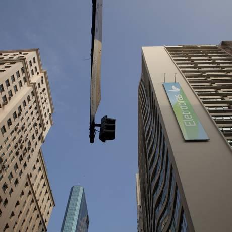Sede da Eletrobras no Centro do Rio. Nadia Sussman/Bloomberg