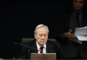 O ministro Ricardo Lewandowski participa de sessão da Segunda Turma do STF Foto: Rosinei Coutinho/STF/29-05-2018