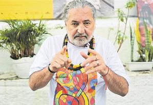 O sambista Moacyr Luz é um dos parceiros do projeto Talentos Especiais. Foto: Divulgação