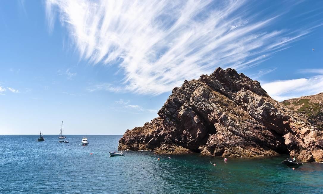A região também conta com belezas marítimas, como é o caso do deslumbrante Arquipélago das Berlengas Foto: Divulgação