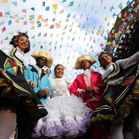 Os meses de junho e julho são marcados por festas típicas (Arquivo) Foto: Fábio Rossi / Agência O Globo
