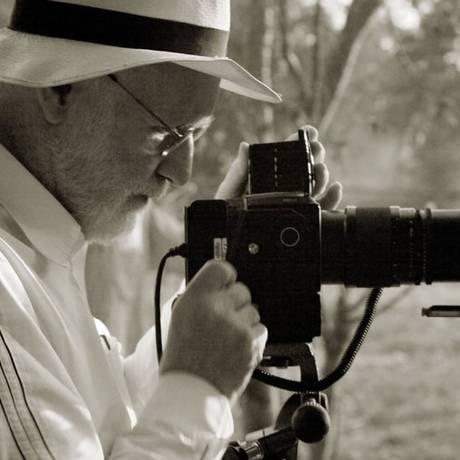 Albert Watson em foto para Pirelli Foto: Divulgação