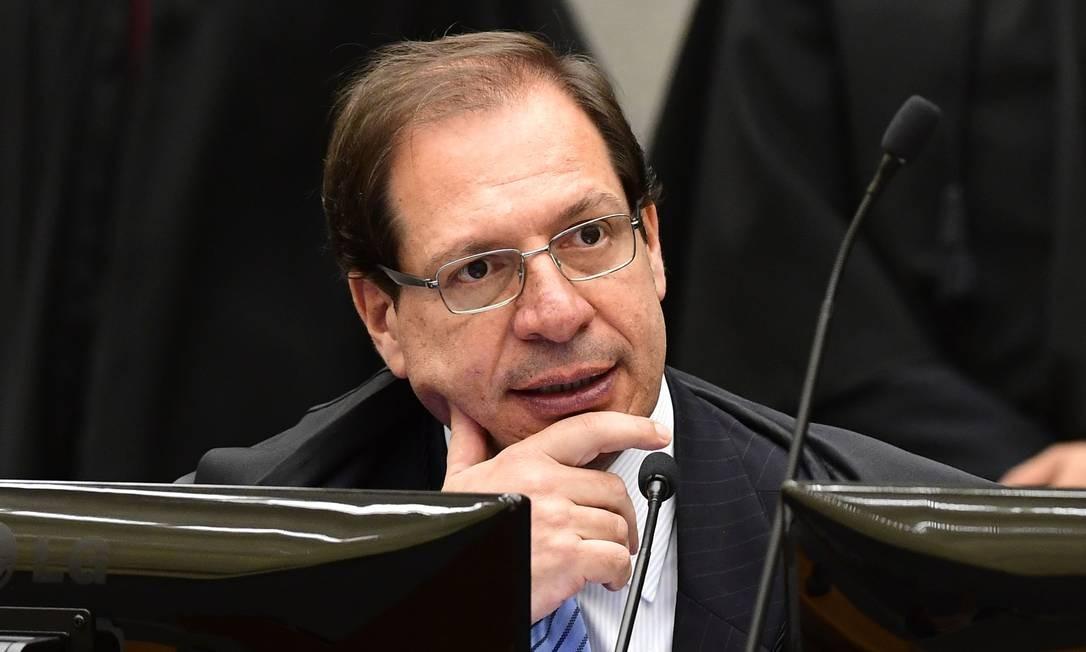 O ministro Luis Felipe Salomão, durante sessão do STJ Foto: Gustavo Lima/STJ/12-12-2017