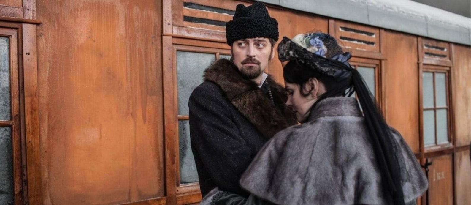 Cena de Anna Karenina: A história de Vronsky Foto: Divulgação