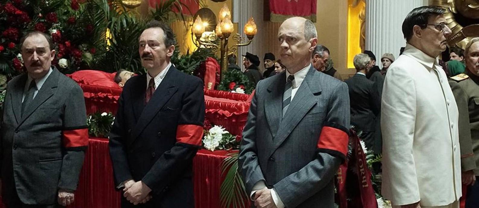 Cena do filme A morte de Stalin Foto: Divulgação
