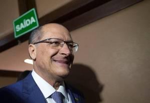 o pré-candidato do PSDB à Presidência da República, Geraldo Alckmin Foto: ADRIANO MACHADO / REUTERS