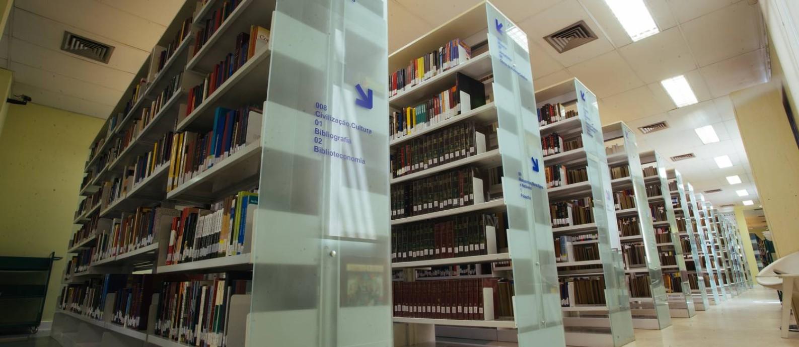 Biblioteca do CCBB: acervo de 125 mil obras Foto: Divulgação/Rafael Pereira / Divulgaçao