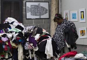 Desde abril, 128 venezuelanos refugiados vivem em abrigo em São Paulo Foto: Edilson Dantas / Agência O Globo