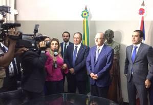 Alckmin participou de agenda de pré-campanha em Salvador Foto: André Uzeda/Agência O GLOBO