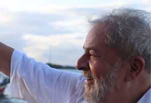 Imagem do vídeo de pré-candidatura do ex-presidente Lula Foto: Reprodução
