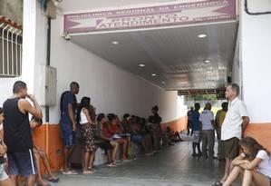 Posto de saúde. Verba do estado, diz prefeitura, é destinada, entre outros serviços, à atenção básica Foto: Fábio Guimarães / Fábio Guimarães/07-02-2018