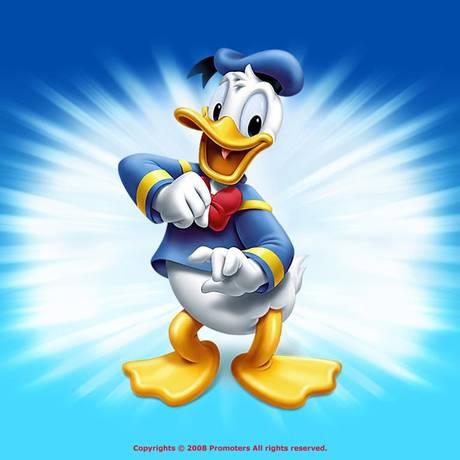 O Pato Donald, personagem que iniciou a editora Abril, há 68 anos Foto: Reprodução