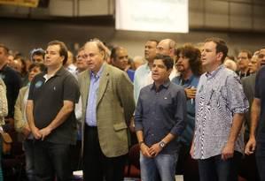 PA Rio de Janeiro 09062018 - Evento do partido DEM no Riocentro - Foto Guilherme Pinto / Agência O Globo Foto: Agência O Globo