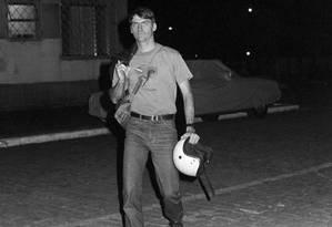 Em 1988, o capitão Jair Bolsonaro se candidatou a vereador pelo Partido Democrata Cristão (PDC) Foto: Luiz Pinto / Agência O Globo