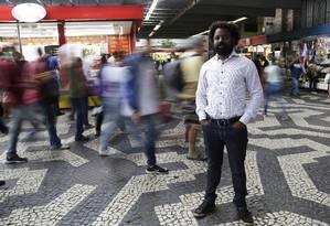 Vitor Del Rey, do RenovaBR, tentará uma vaga de deputado federal pelo PDT Foto: Gustavo Miranda / Agência O Globo