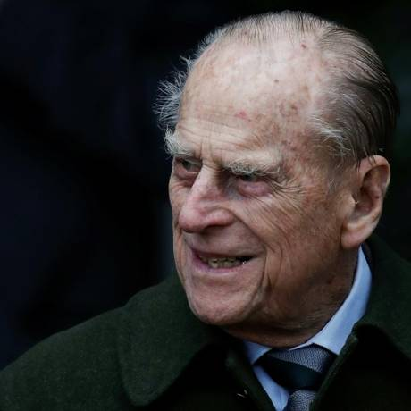Príncipe Philip fotografado em dezembro de 2017 Foto: AFP/Arquivos / Adrian DENNIS