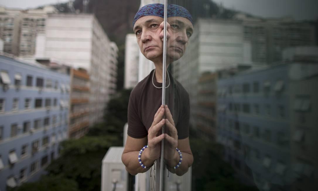 O osteopata Pedro Augusto Guerra diz não saber o motivo do ataque Foto: Agência O Globo / Márcia Foletto