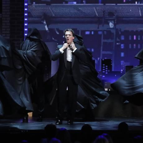 O ator Jamie Parker durante a apresentação da versão teatral de Harry Potter no Tony Foto: LUCAS JACKSON / REUTERS
