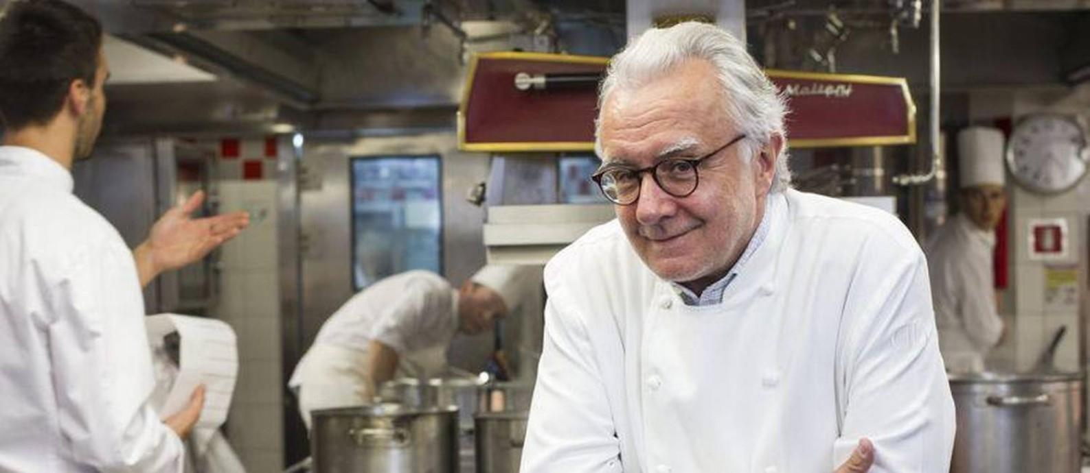 A busca do chef Ducasse Foto: Divulgação