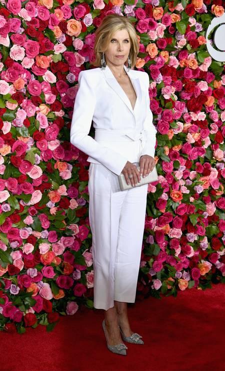 Christine Baranski, de Alexandre Vauthier Foto: Dimitrios Kambouris / Getty Images for Tony Awards Productions