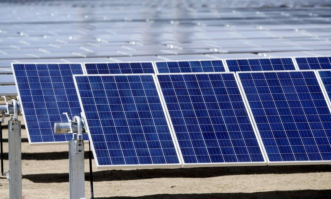 Paineis solares no Colorado, Estados Unidos Foto: / Rick Wilking/6-4-2016