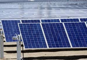 Paineis solares no Colorado, Estados Unidos Foto: Rick Wilking/6-4-2016