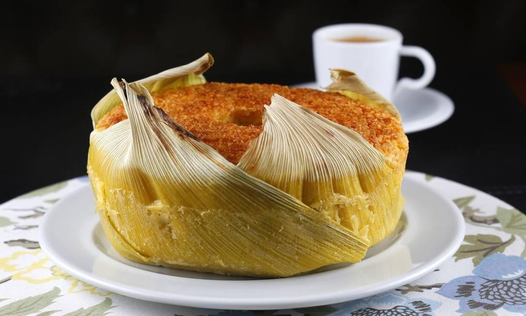 Le Dépanneur. O bolo cremosos e de milho com coco (R$ 24,90). Shopping Leblon - Avenida Afrânio de Mello 290, Leblon (2512-6961) Fabio Rossi / Divulgação