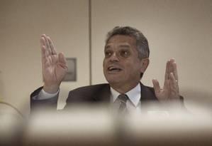 O deputado federal Joãoo Rodrigues (PSD-SC) concede entrevista coletiva Foto: Daniel Marenco / Agência O Globo