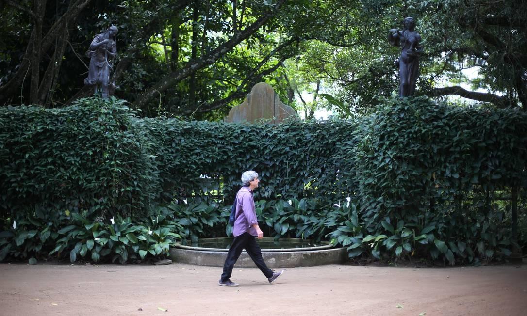 O parque passará a ter sete trilhas com as duas que serão inauguradas Foto: Pedro Teixeira / Agência O Globo