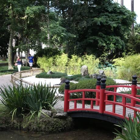 O Jardim Botânico tem cerca de 144 hectares, sendo 54 deles (540 mil metros quadrados) destinados à visitação. Possui 7.500 plantas, de 2.750 espécies Foto: Pedro Teixeira / Agência O Globo