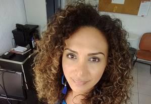 Bruna Benevides, 38 anos, foi afastada compulsoriamente da Marinha por ser uma mulher trans Foto: Arquivo Pessoal