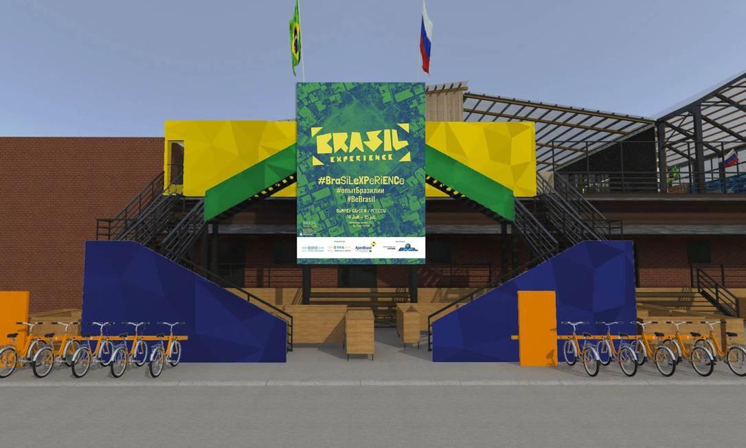 A Casa do Brasil na Rússia: shows gratuitos a 1,5 quilômetro da Praça Vermelha Foto: Divulgação