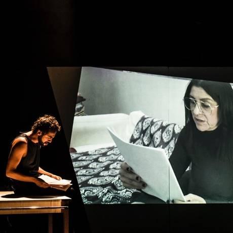 Cena da peça 'Vim assim que soube' Foto: Divulgação
