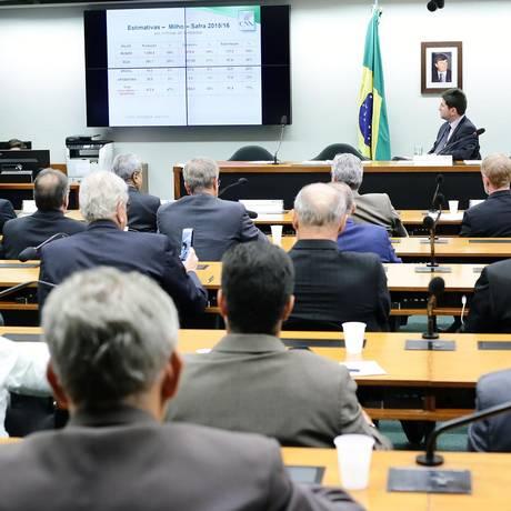 Debate sobre preço do diesel na Comissão de Agricultura da Câmara Foto: Michel Jesus/Câmara dos Deputados