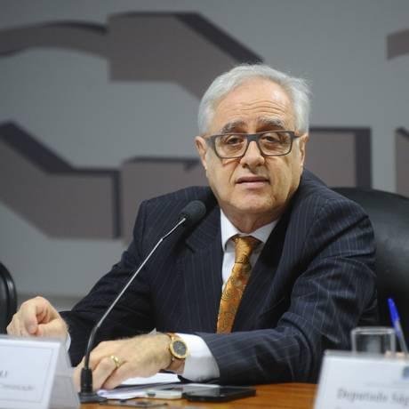 Laerte Rímoli participa de audiência no Senado Foto: Marcos Oliveira/Agência Senado/24-11-2016