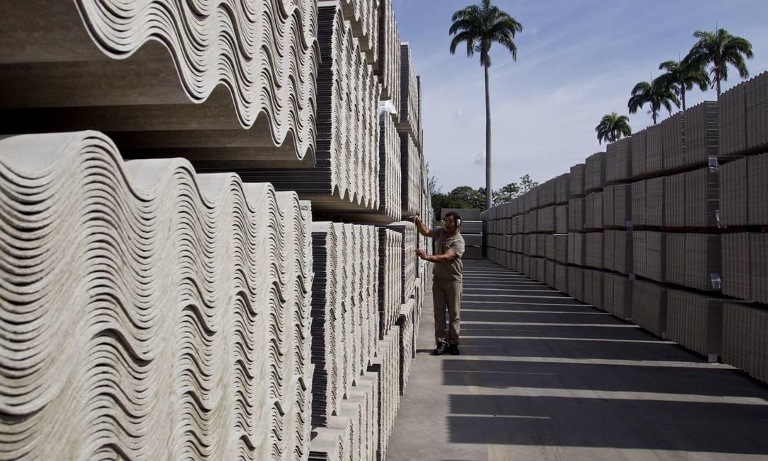 Supremo fará julgamento virtual sobre amianto, sem holofotes Foto: Márcia Foletto/Agência O Globo