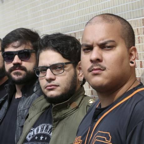 Ascensão. Single mais recente da banda Lemak alcançou quase 70 mil visualizações em duas semanas Foto: Agência O Globo / Pedro Teixeira