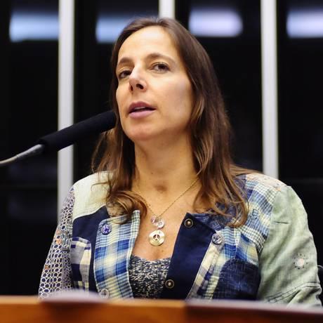 Mara Gabrilli, primeira deputada federal tetraplégica Foto: Gustavo Lima / Agência O Globo