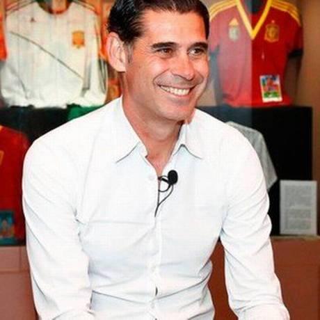 Fernando Hierro assumiu como novo técnico da Espanha Foto: Divulgação / RFEF