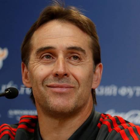 Julen Lopetegui foi demitido da seleção espanhola nesta quarta-feira Foto: Maxim Shemetov / REUTERS