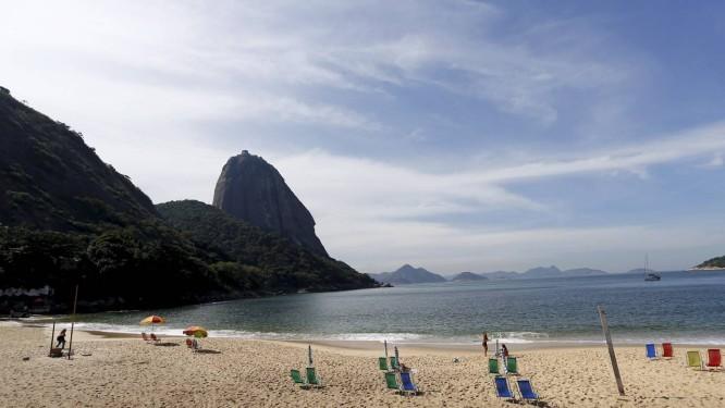 Terça-feira foi de sol no Rio Foto: Pablo Jacob / Agência O Globo