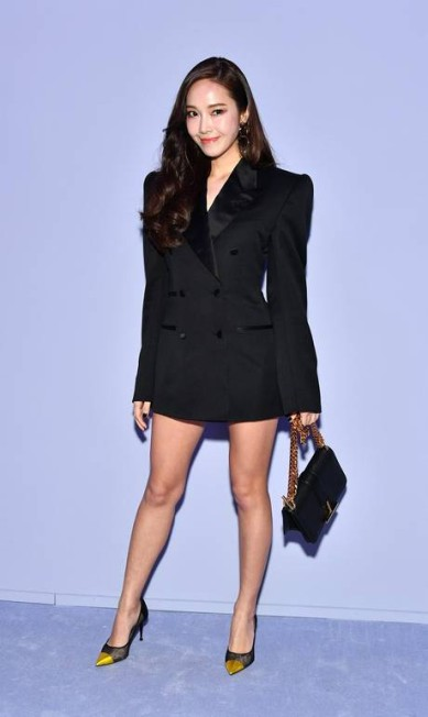 Jessica Jung, do extinto grupo Girls' Generation, é queridinha de Tom Ford... Dia Dipasupil / Getty Images