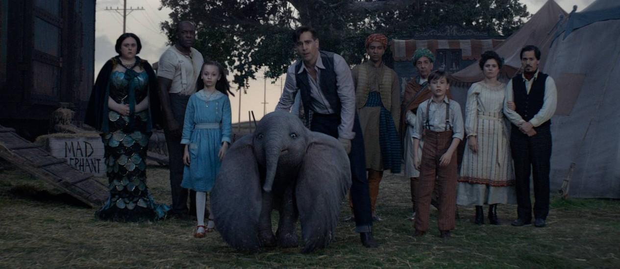 Cena de 'Dumbo' Foto: Divulgação