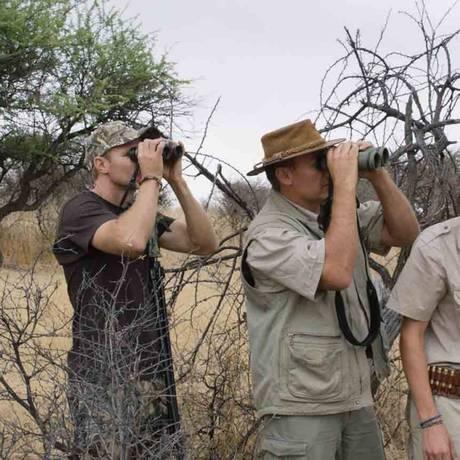 Cena do filme 'Safari' Foto: Divulgação