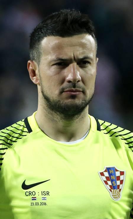 O goleiro da Croácia Danijel Subasic também está na lista Foto: Srdjan Stevanovic / Getty Images