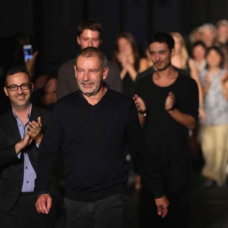 Tomas Maier em setembro de 2016 Foto: Vittorio Zunino Celotto / Getty Images